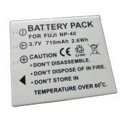 Bateria NP-40 710mAh para câmera digital e filmadora Fuji F455, F610, F710, F811, V10, V10 Zoom, Z1, Z5fd, J50