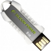 Pen drive Silicon Power Unique 530 8GB Branco