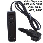 Cabo Disparador RM-S1AM para Sony Alpha RS4003