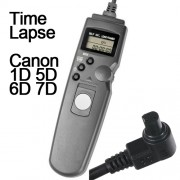 Cabo Disparador Remoto Time Lapse para Canon RS-80N3 TC1002