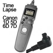 Cabo Disparador Remoto Time Lapse Canon RS-80N3