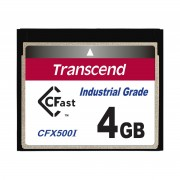 Cartao de memoria INDUST TEMP CFAST CARD 4GB TS4GCFX500I 500x Industrial Grade