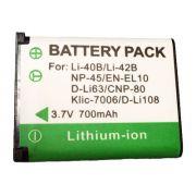 Bateria Compatível com Kodak Klic-7006 para cameras EasyShare M773, M873, M883 e outras