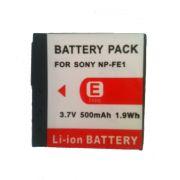 Bateria NP-FE1 500mAh para câmera digital Sony Dsc-t7 Dsc-t7b Dsc-t7s