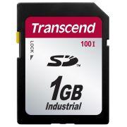 Cartão de Memória SD Transcend 1GB Industrial TS1GSD100I