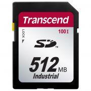 Cartão de Memória SD Transcend 512MB Industrial TS512MSD100I