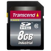 Cartão de Memória SD Transcend 8GB Industrial TS8GSDHC10I