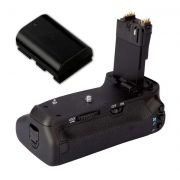 Kit Battery Grip BG-E14 para Canon EOS 70D + 1 Bateria LP-E6