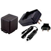 Kit Bateria VW-VBG260k + carregador para Panasonic AG-AC7, AG-AF100, AG-HMC40, HDC-HS700