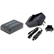 Kit Bateria LP-E12 + carregador para Canon EOS-M EOS Rebel SL1