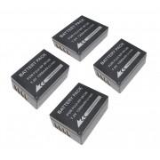 4 Baterias NP-FW126 Para Fuji Finepix