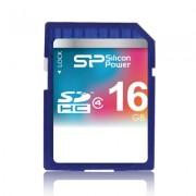 CARTÃO SDHC SILICON POWER 16GB CLASSE 4
