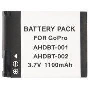 Bateria AHDBT-001 1100mAh para câmera e filmadora Go Pro Gopro HD Hero 1,  HD Hero 2,  HD Hero 960