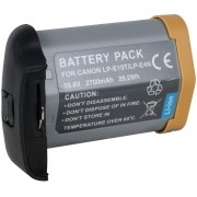 Bateria LP-E19T LP-E4N 2700mAh para câmera digital e filmadora Canon EOS-1D Mark III Digital, EOS-1Ds Mark III Digital