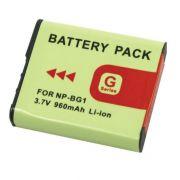 Bateria NP-BG1/FG1 960mAh para câmera digital e filmadora Sony Cyber-shot DSC-H10, DSC-W100, DSC-T20