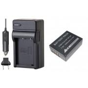Bateria NP-W126 + Carregador para Fuji FinePix HS30 EXR, HS50 EXR, X-E1, X-Pro1, F30, F31FD