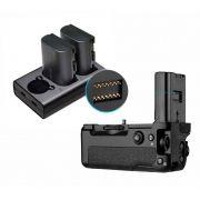 Battery Grip VG-C3EM para Sony 2 baterias FZ 100 + Duplo Carregador