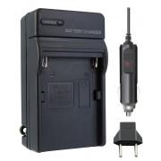 Carregador P/ Sony NP-F990 NP-FM50 NP-FM55H NP-FM500H NP-F550 NP-f570 NP-F750 NP-F770 NP-F960 NP-F970 QM71 QM91 QM51D Panasonic: VBD1,VBD2,VBD3/VBD815  JVC: V607U,V615U