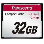 Cartão de memória Compact Flash CF Transcend 32GB 170 Industrial
