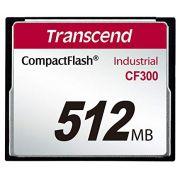 Cartão de memória CompactFlash Transcend 512MB TS512MCF300 300x Industrial