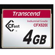 Cartão de memória INDUST TEMP CFAST CARD 4GB TS4GCFX520I 520x Industrial Grade