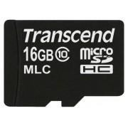 Cartão de Memória MicroSDHC Transcend 16GB MLC INDUSTRIAL