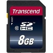Cartão de Memória SDHC 8GB Transcend  Classe 10