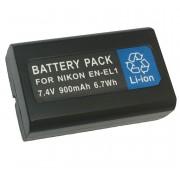 KIT Bateria + Carregador Para NIKON Coolpix EN-EL1
