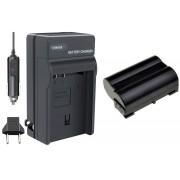 Kit Bateria EN-EL15 + carregador para Nikon D7000, D800, D800e, D600, D7100 e 1 V1