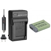 Kit Bateria NB-13L + carregador para câmera digital e filmadora Canon PowerShot G5 X, G7 X, SX620, SX720 HS