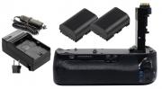 Kit Battery Grip BG-E21 para câmera Canon EOS 6D Mark II + 2 Baterias + Carregador