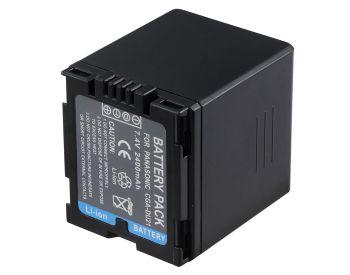 Bateria CGA-DU21/VW-VBD210 para câmera digital e filmadora Panasonic NV-MX500A, NV-GS37EG-S, PV-GS19, SDR-H20EB-S, VDR-D150