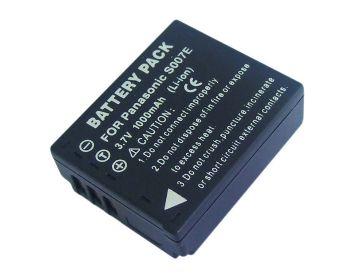 Bateria CGA-S007E 1000mAh para câmera digital e filmadora Panasonic Lumix DMC-TZ1, DMC-TZ2, DMC-TZ5