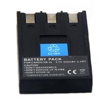 Bateria NB-3L para câmera digital e filmadora Canon Digital Ixus I, IXY Digital 30, IXY Digital L2, PowerShot SD500