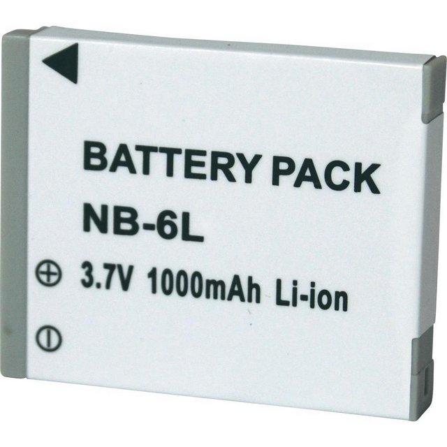 Bateria NB-6L para câmera digital e filmadora Canon Digital Ixus 85 IS, IXY Digital 25IS, PowerShort SX500