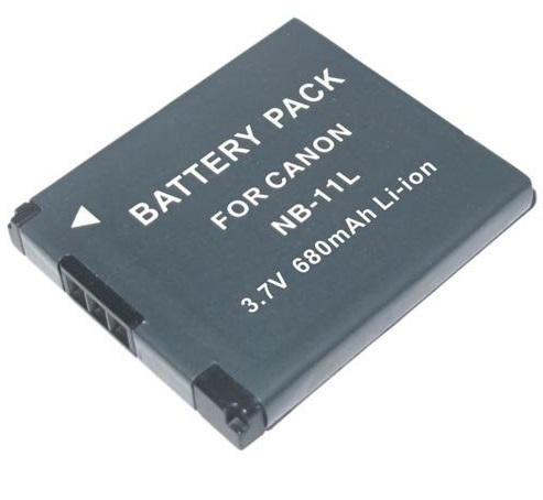 Bateria NB-11L para câmera digital e filmadora Canon PowerShot A2300, Digital ELPH 110 HS, Digital IXUS 125 HS