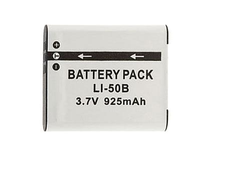 Bateria Li-50B 925mAh para câmera digital e filmadora Olympus SP-800, SZ30, Tough TG-610, u 9010, u (micro) Digital 1010