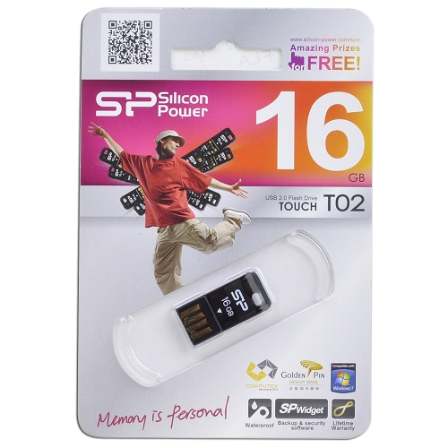 Pen drive Silicon Power Touch T02 16GB