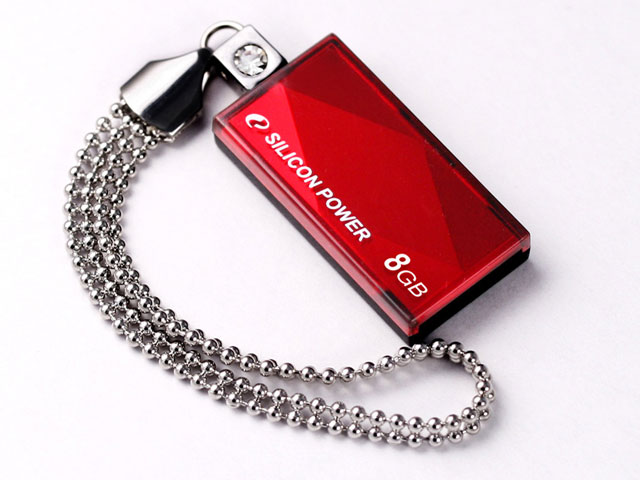 Pen drive Silicon Power Touch 810 8GB Vermelho
