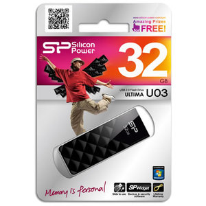 Pen drive Silicon Power Ultima U03 32GB Preto
