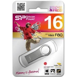 Pen drive Silicon Power  Firma F80 16GB