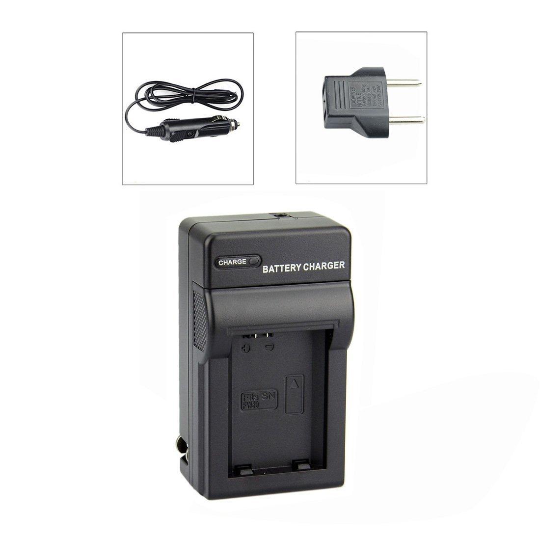 Carregador de Bateria NP-FW50 para Sony NEX-3, NEX-3A, NEX-3D, NEX-5, NEX-5K