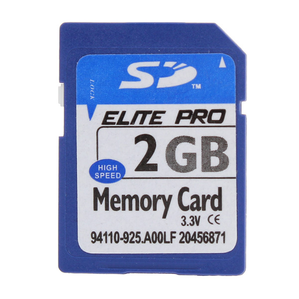 SD 2GB 80X