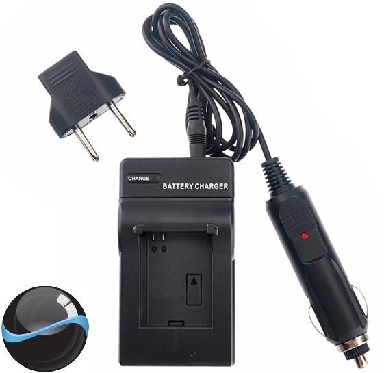 Carregador de Bateria para Panasonic CGR-D07S CGR-D08S CGR-D54S AG-DVC7, AG-DVC15, AG-DVC20, AG-DVX100, AC-8, AC-AC90, entre outras. Funciona também em diversos modelos de iluminador de LED, entre ele