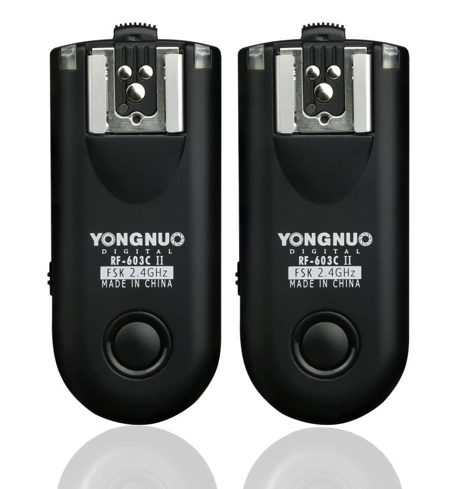 RÁDIO FLASH YONGNUO RF-603N II N3 (para Nikon)