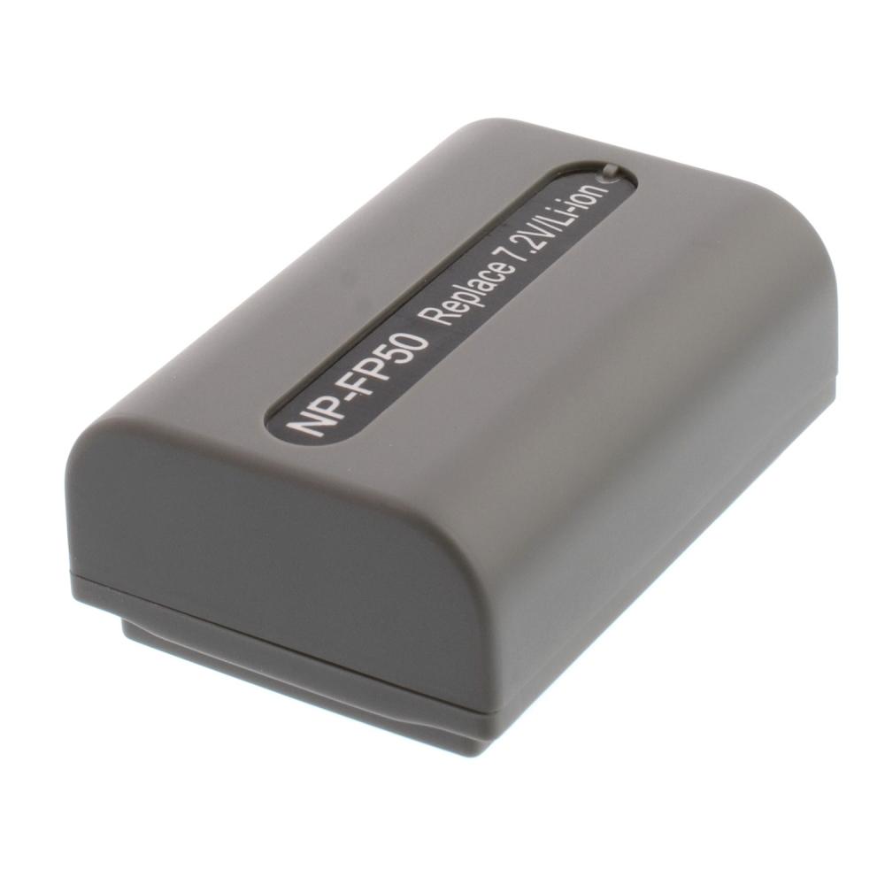 Bateria NP-FP50 para câmera digital e filmadora Sony Dcr-dvd103 Dvd105 Dvd202 Dvd203 Hc3