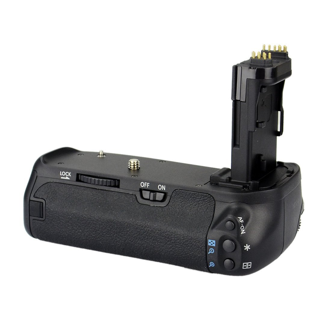 Kit Battery Grip BG-E14 para Canon EOS 70D 80D + 2 Baterias LP-E6 + 1 Carregador
