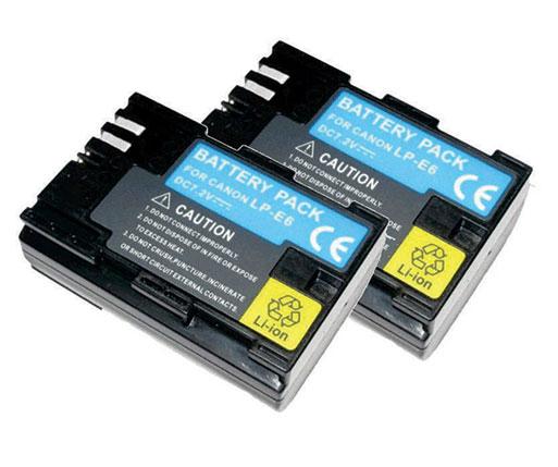 Kit Battery Grip BG-E13 para Canon EOS 6D + 2 Baterias LP-E6 + 1 Carregador