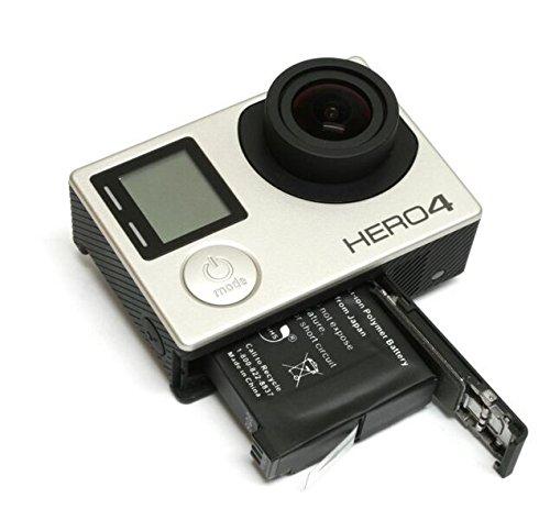 Kit 2x Baterias AHDBT-401 + carregador DUPLO para câmera e filmadora Go Pro 4 Gopro HD Hero 4