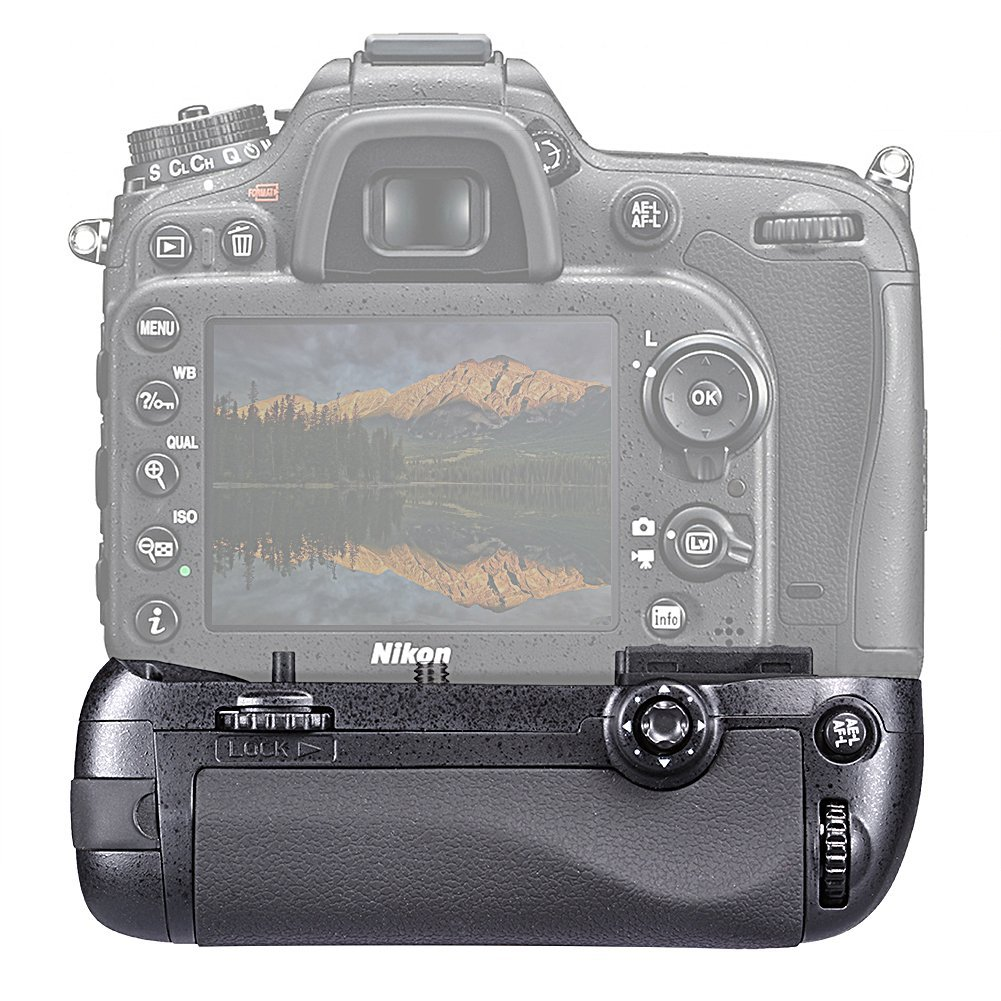 Kit Battery Grip MB-D15 para Nikon D7100 + 2 Baterias EN-EL15 + Carregador